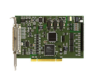 Analog PCI multifunction board