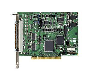 Analog PCI I/O board