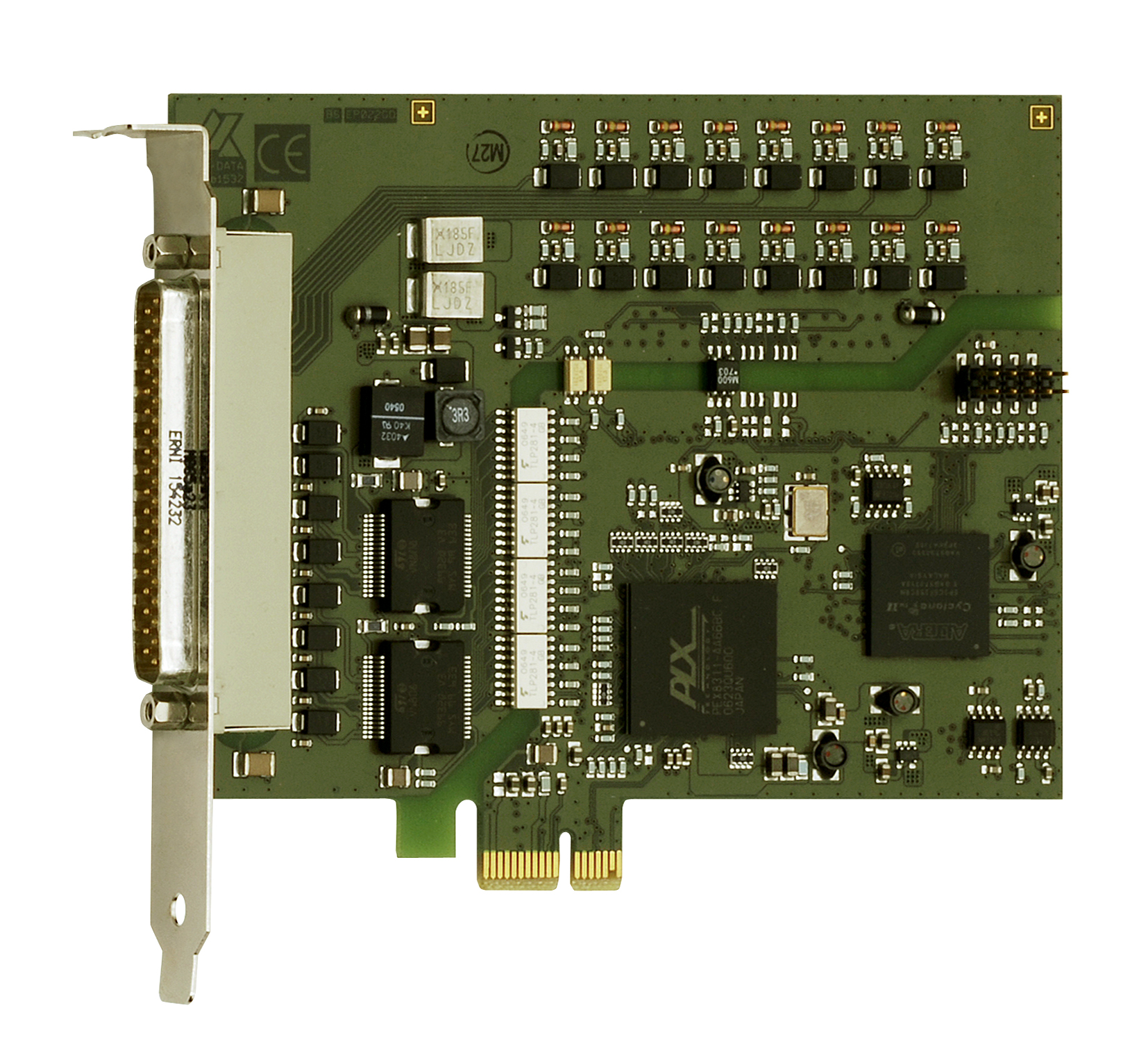 Press release APCIe-1500-FC: 3 fast counter inputs for PCIe digital