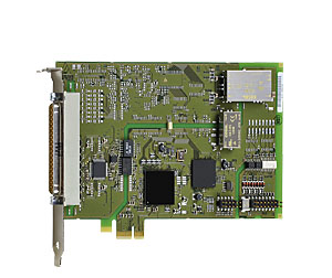 Motion control with PCI Express boards