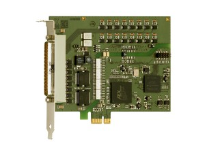 PCI-Express board with 16 digital inputs APCIe-1016