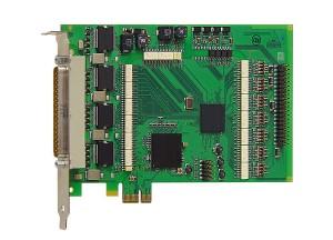 PCI-Express board with 32 digital inputs APCIe-1032