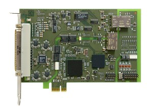 PCI-Express analog I/O board APCIe-3121 / APCIe-3123