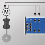 Monitoring of a tools motor current